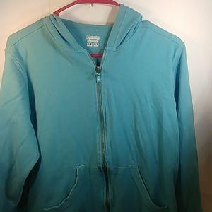 Columbia Women's XL Zip Up Pocketed Hoodie